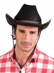 Sombrero cowboy negro adulto
