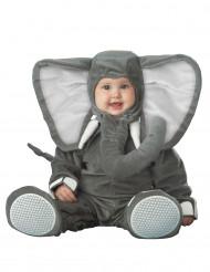 Disfraz elefante para bebé - Lujo
