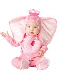 Disfraz elefante rosa para bebé - Clásico