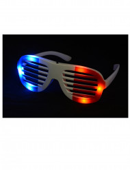 Gafas Led Francia adulto