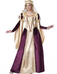 Disfraz Princesa medieval mujer Premium