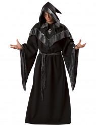 Disfraz Brujo oscuro hombre Premium