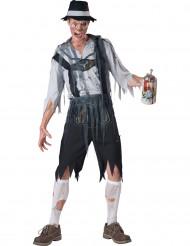 Disfraz zombie bávaro hombre Premium