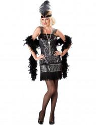Disfraz Charlestón mujer- Premium
