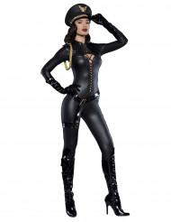 Disfraz capitana sexy mujer Premium