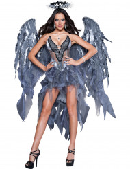 Disfraz ángel demonio mujer Premium
