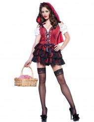 Disfraz Caperucita Roja para mujer -Premium