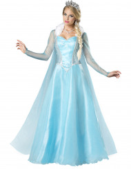 Disfraz de reina del hielo para mujer -Premium