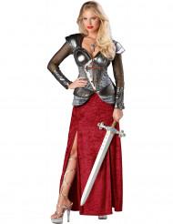 Disfraz Juana de Arco mujer Premium