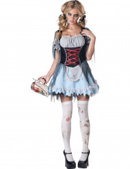 Disfraz zombie bávara mujer Premium