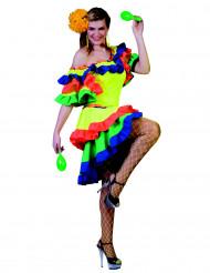 Disfraz bailarina rumba mujer