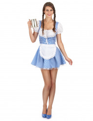Disfraz de bávara fiesta de la cerveza mujer