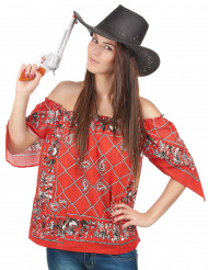 Camiseta cowboy mujer