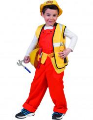 Disfraz albañil niño