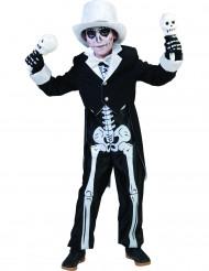 Disfraz esqueleto chic niño Halloween
