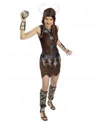 Disfraz guerrera vikinga mujer