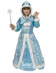 Disfraz reina de las nieves niña
