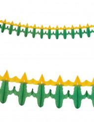 Guirnalda de papel cactus 3 metros