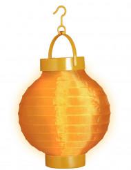 Farolillo luminoso naranja 15 cm