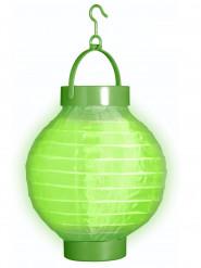 Farolillo luminoso verde 15 cm