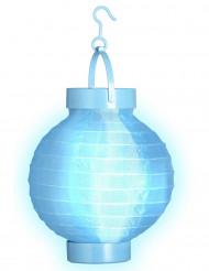 Farolillo luminoso azul 15 cm