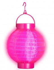 Farolillo luminoso rosa 15 cm