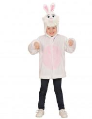 Chaqueta capucha conejo niño