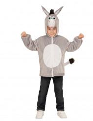 Chaqueta capucha burro niño