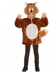 Chaqueta capucha zorro niño