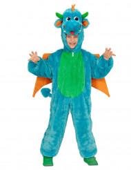 Disfraz dragón azul niño