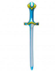 Espada hinchable azul 77 cm