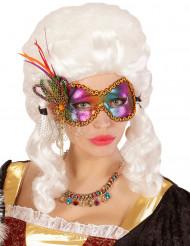 Antifaz mariposa multicolor mujer