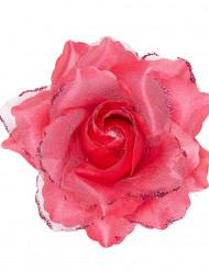 Rosa fucsia para el pelo mujer