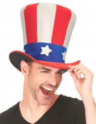 Sombrero de copa USA adulto