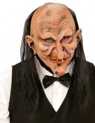 Máscara Mayordomo terrorífico adulto