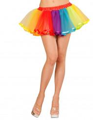 Enagua multicolor mujer