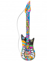 Guitarra hinchable hippie 105 cm