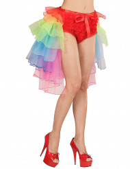 Tutú burlesque multicolor mujer