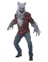 Disfraz hombre lobo feroz adulto