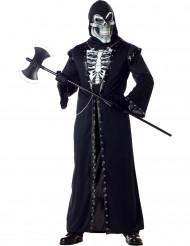 Disfraz esqueleto macabro adulto Halloween