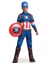 Disfraz Capitán América™ niño Los Vengadores 2™ Deluxe