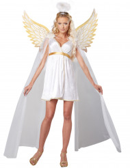 Disfraz ángel radiante mujer