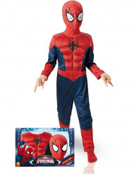 Disfraz Deluxe 3D EVA Spiderman™ Ultimate niño caja
