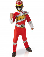 Disfraz Deluxe Power Rangers™ Dino Charge rojo niño