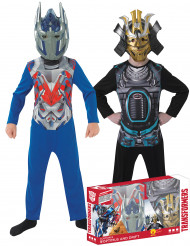 Pack disfraces clásicos niño Optimus prime y Drift™ Transformers™ Caja