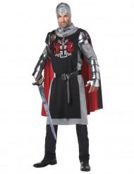 Disfraz de caballero medieval mesa redonda hombre