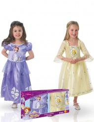Pack disfraces clásicos Princesa Sofía™ y Amber™ caja