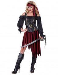Disfraz mujer pirata para adulto