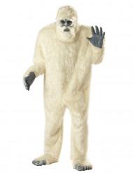 Disfraz de hombre de las nieves para adulto