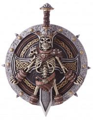 Escudo y espada vikingo